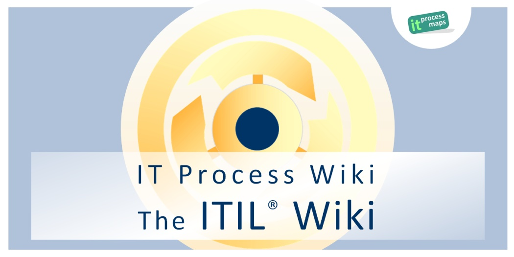 It Process Wiki The Itil Wiki It Process Maps