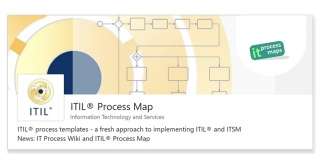 LinkedIn showcase page: ITIL Process Map